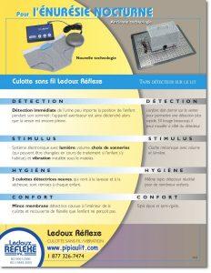 Comparatif culotte détectrice et détecteur sur tapis